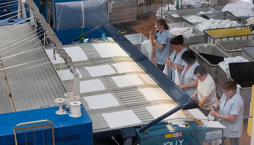 Blanchisserie industrielle à Grenoble réactivité